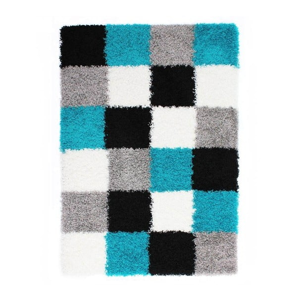 Modrý koberec Flair Rugs Andes, 120x170cm