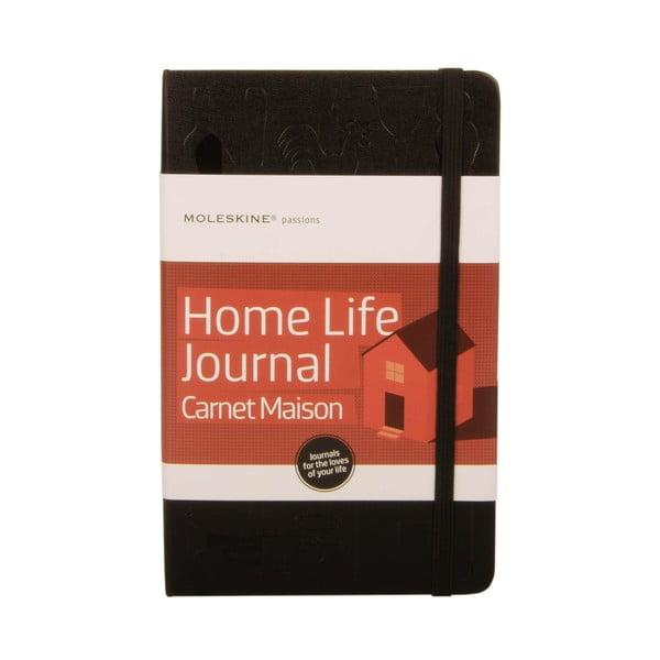 Zápisník Moleskine pre milovníkov pekného domova Passion