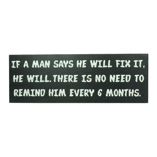 Nástenná dekorácia Remind Him