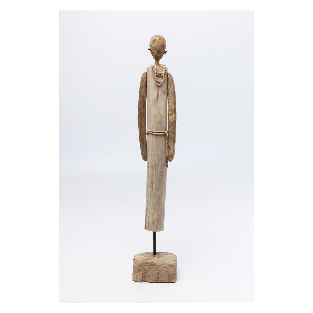 Dekorácia z mangového dreva Kare Design African Woman