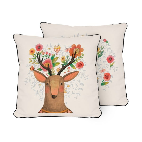 Vankúš Pillow Deer Dream, 45 x 45 cm