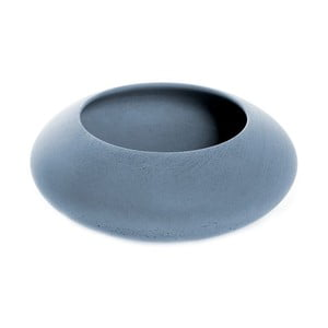 Modrá betónová miska Iris Hantwerk, Ø13,5 cm