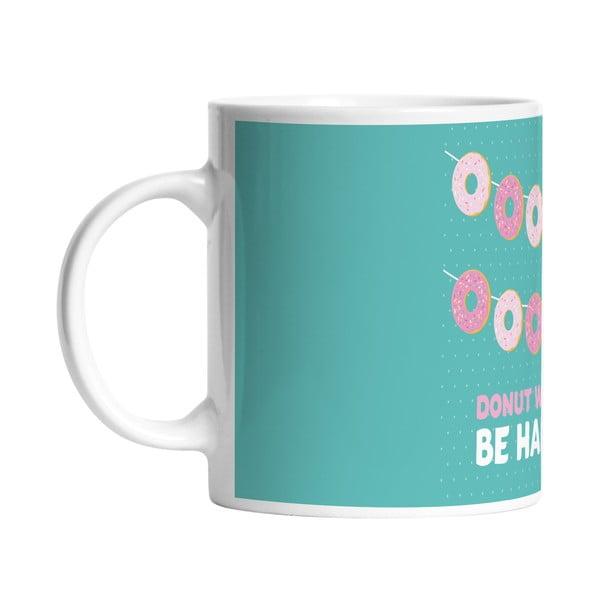 Keramický hrnček Donut Worry, 330 ml