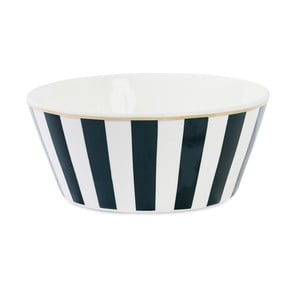 Keramická miska Étoile Stripe Black