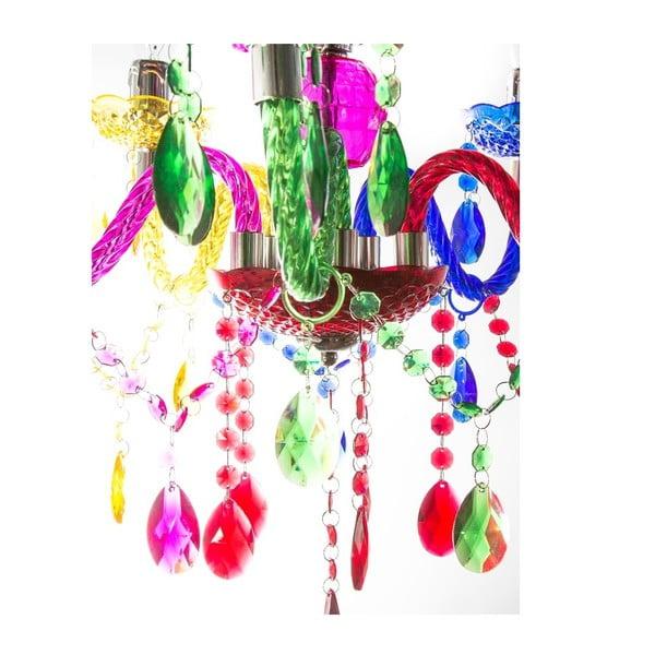 Závesný luster Fisura Isabella Color