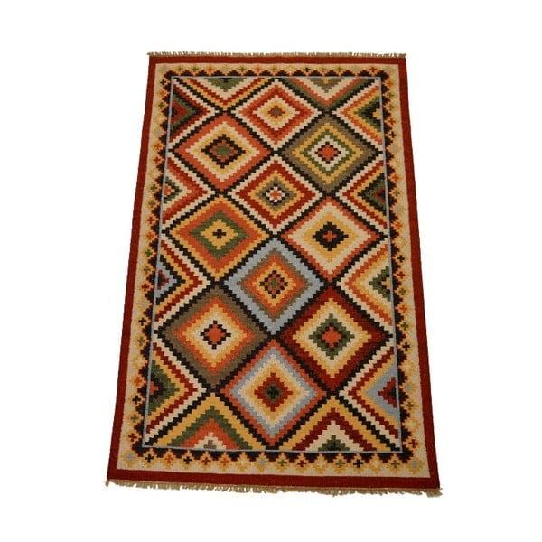 Vlnený koberec Kilim 150x250 cm