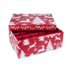 Box s priehradkami Tri-Coastal Winter Tale