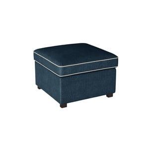 Modrá podnožka s krémovými lemami Rodier Organdi