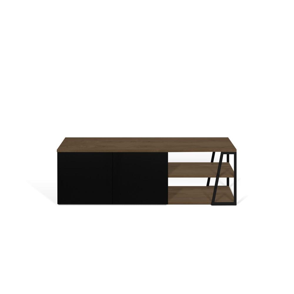 Čierny TV stolík TemaHome Albi