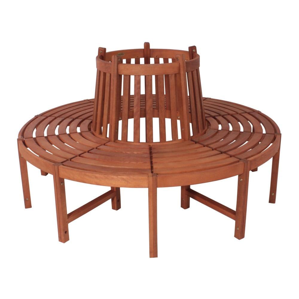 Záhradná lavica z eukalyptového dreva ADDU Fontana