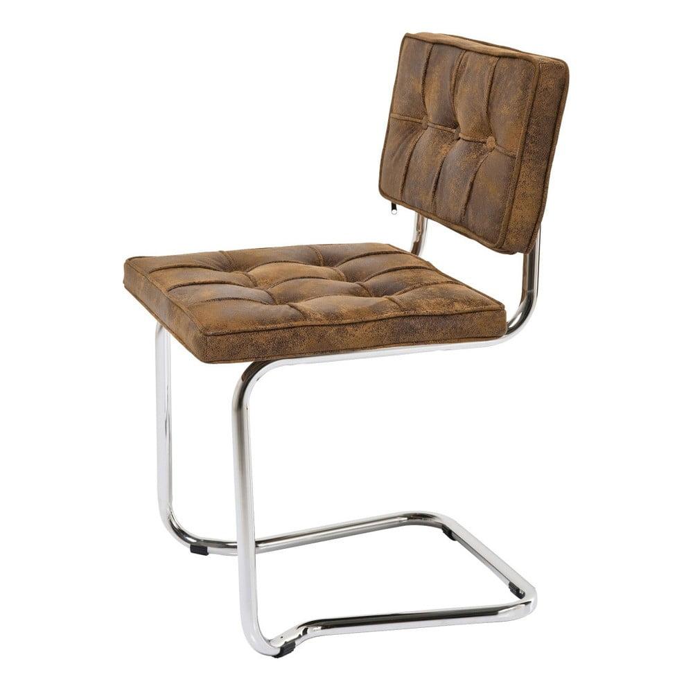 Hnedá stolička Kare Design Vintage 4f431004a54