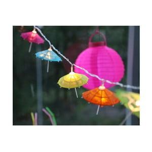 Svetelná dekoratívna reťaz Best Season Umbrella, 10svetielok