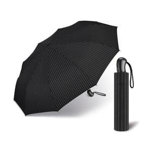 Čierny skladací dáždnik Simlicidad
