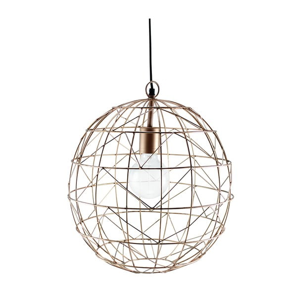 Stropné svetlo Globe Copper