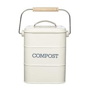 Krémový domáci kompostér Kitchen Craft Living Nostalgia