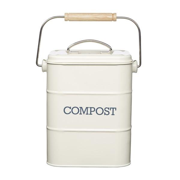 Krémový domácí kompostér Living Nostalgia