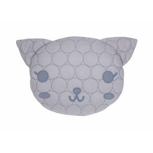 Bavlnený vankúš s motívom mačky Nattiot, 35×40 cm