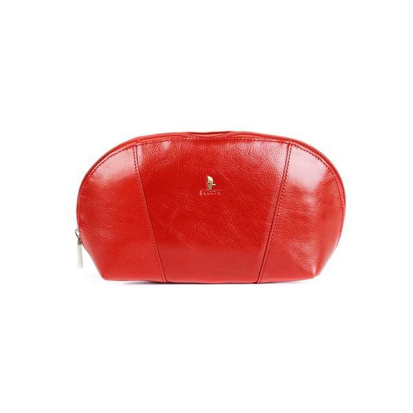 Kožená kozmetická taška Linda Puccini