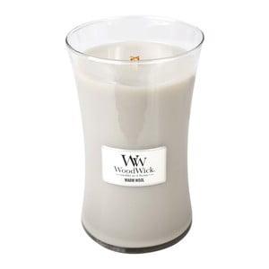 Vonná sviečka WoodWick Hrejivá vlna, 609 g, 130 hodín