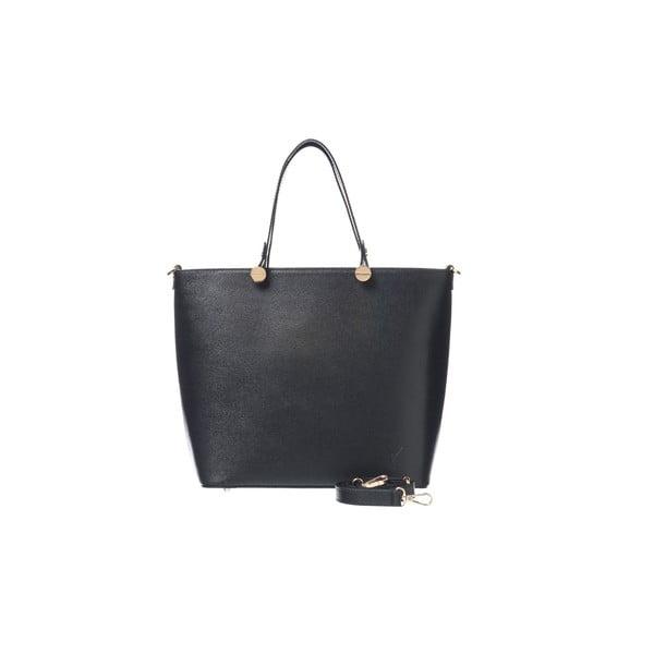 Kožená kabelka Miss Black
