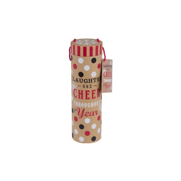 Darčeková tuba na flaše Tri-Coastal Christmas Cookie