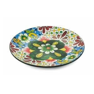 Guľatý dekoratívny tanier Villa d´Este Andalucia