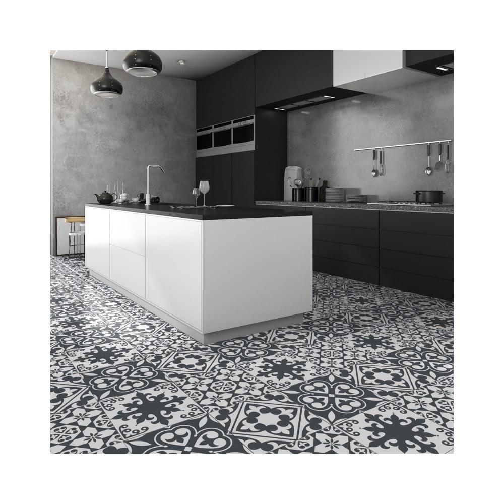 Samolepka na podlahu Ambiance Floor Sticker Tiles Leandro, 45 × 45 cm