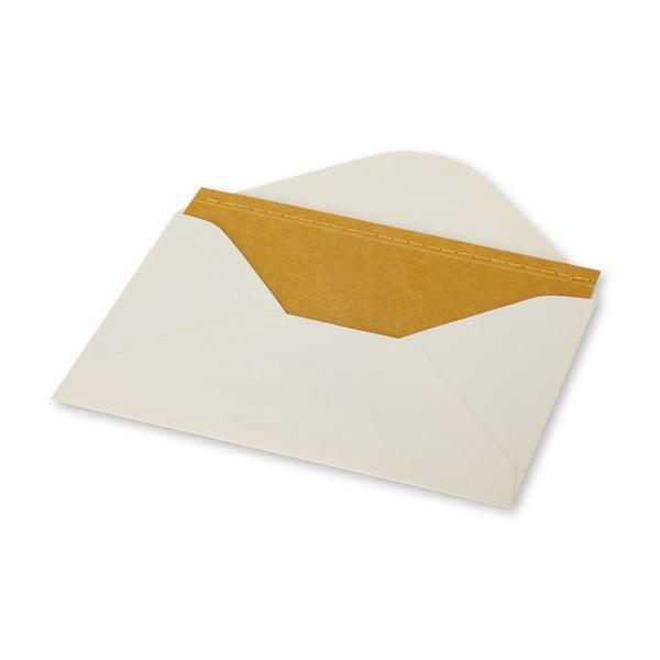 Listový set Moleskine Personal Maize, zápisník + obálka
