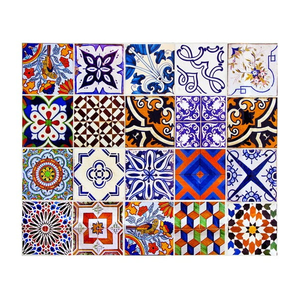 Koberec z vinylu Mosaico, 99x120 cm