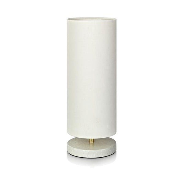 Biela stolová lampa Markslöjd Herald