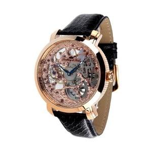 Čierno-zlaté hodinky Lindberg&Sons