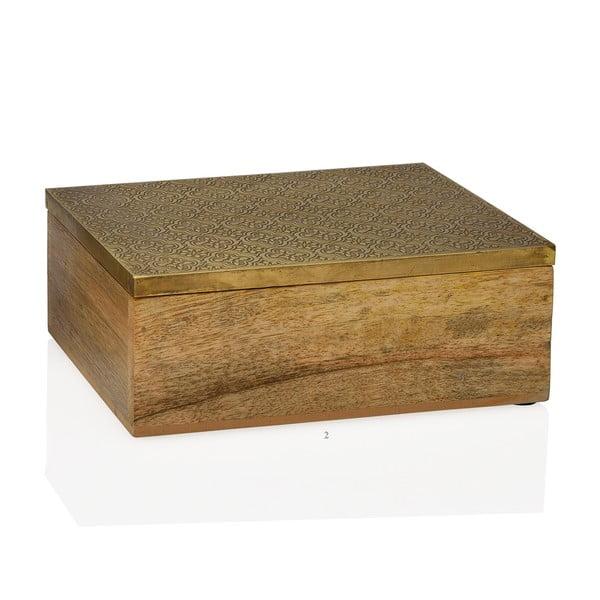 Dekoratívny box Gold, veľký