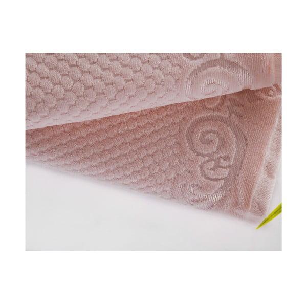 Sada uteráka a osušky Acustic Light Powder, 50x90 cm a 70x140 cm