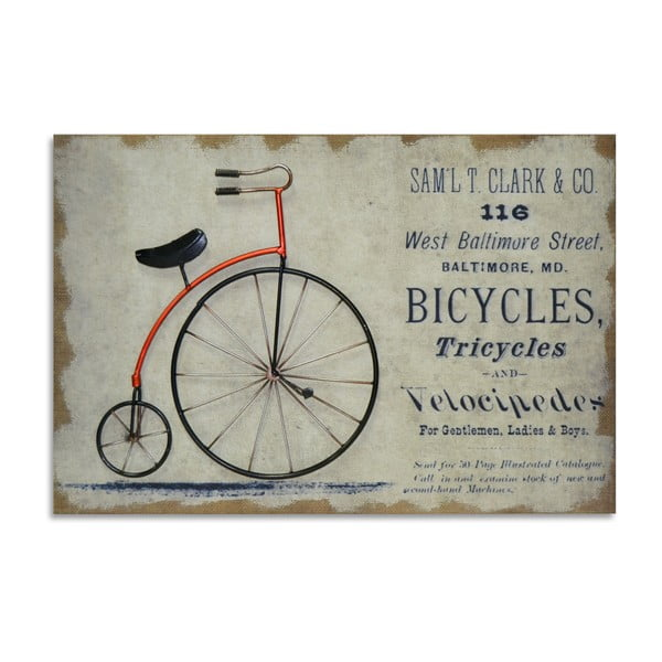 Obraz Moycor Red Bike, 60x40cm