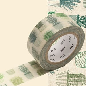 Washi páska MT Masking Tape Cactus