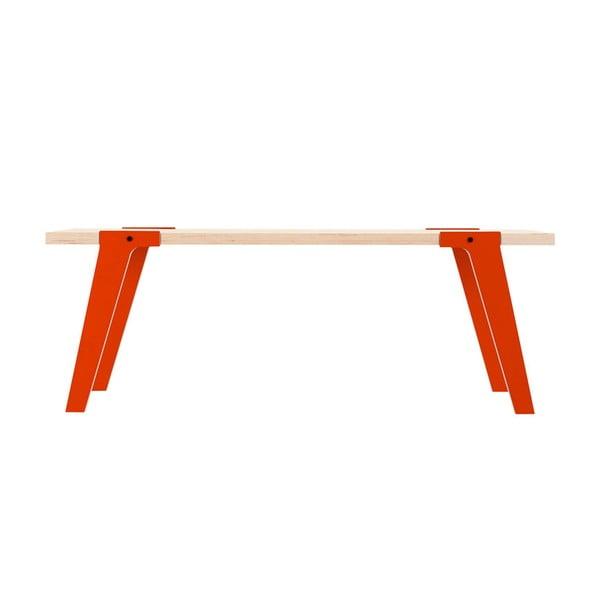 Oranžová lavica na sedenie rform Switch03