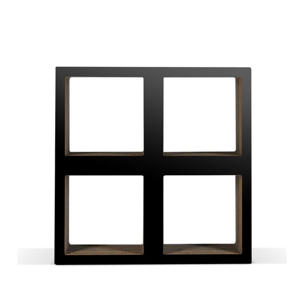 Malá kartónová knižnica Bit Square Black