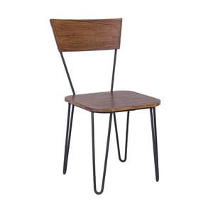 Jedálenská stolička z akáciového dreva Bizzotto Edgar
