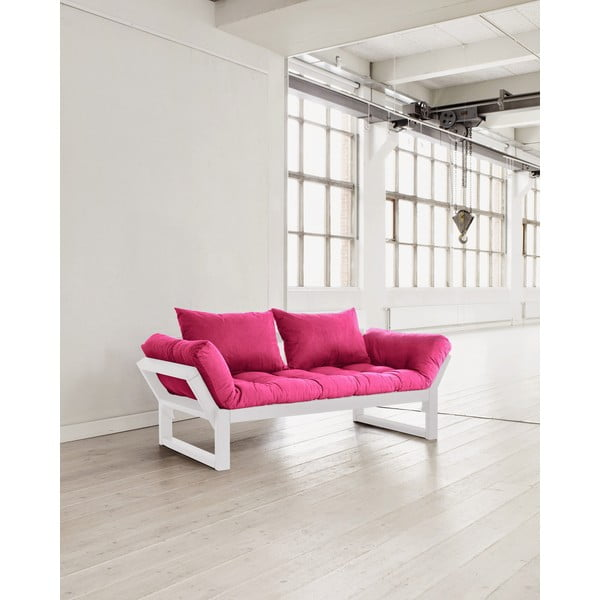 Pohovka Karup Edge White/Pink