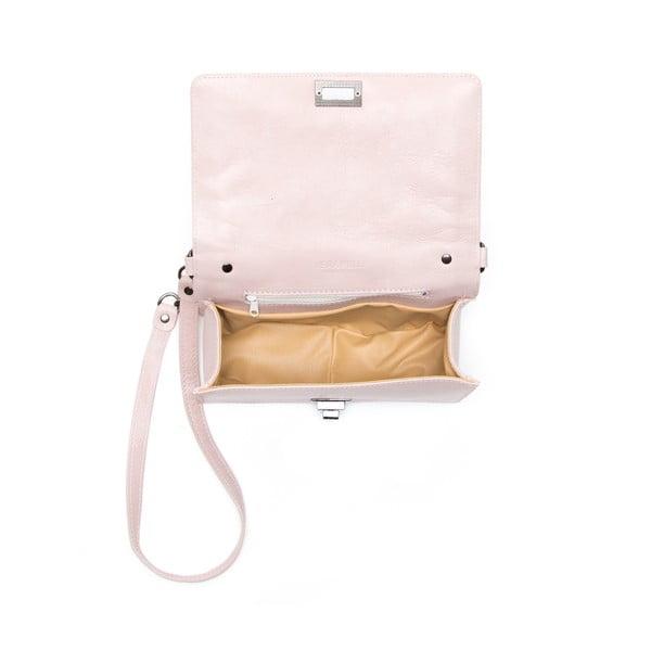Kožená kabelka Fiola, ružová