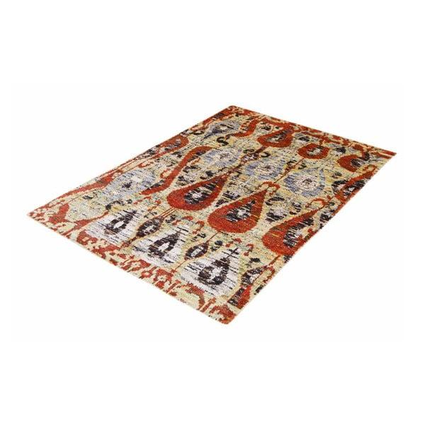 Ručne tkaný koberec Ikat Kanta, 170x260cm