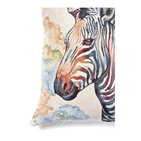 Obliečka na vankúš Zebra, 45x45 cm