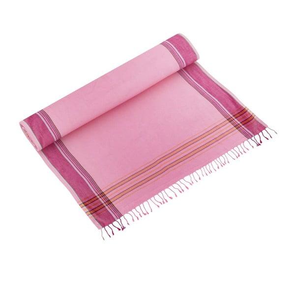 Osuška/pareo Zeki Pink, 100x178 cm