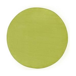 Zelený koberec Hanse Home, ⌀ 133 cm