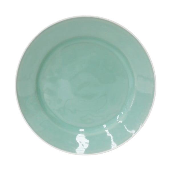 Keramický tanier Astoria 28 cm, mätový