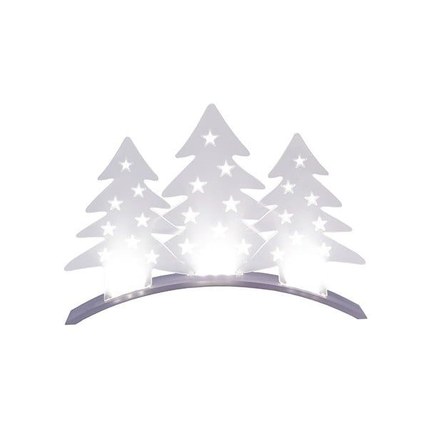 Svietiaca dekorácia Plexi Trees
