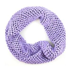 Dámsky okrúhly šál Komin Purple