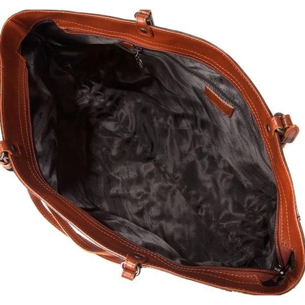 Kožená kabelka Signature Black