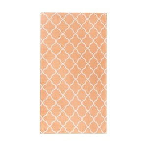 Oranžový koberec Floorita City Loft Trellis Apricot, 80 x 130 cm