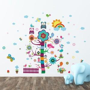 Sada detských samolepiek na stenu Ambiance Magic Tree
